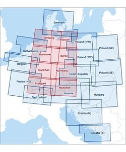 Nürnberg Karte Deutschland.Karten Icao Karte Nürnberg